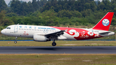 B-6719 - Airbus A320-232 - Sichuan Airlines