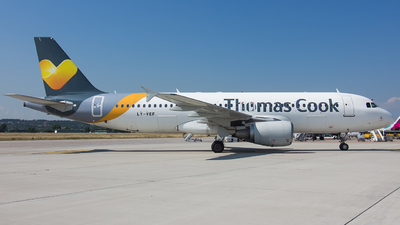 LY-VEF - Airbus A320-214 - Thomas Cook Airlines (Avion Express)