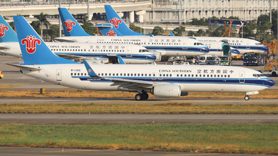 A picture of B1365 - Boeing 73781B - China Southern Airlines - © Fang Xiaoyu