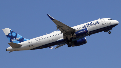 N708JB - Airbus A320-232 - jetBlue Airways