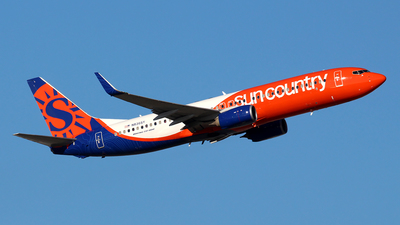 N836SY - Boeing 737-8KN - Sun Country Airlines