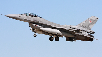 4047 - Lockheed Martin F-16C Fighting Falcon - Poland - Air Force