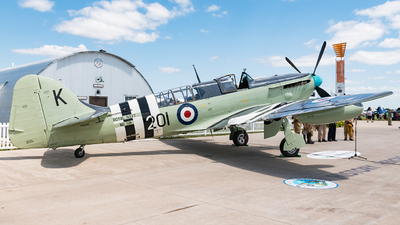 NX518WB - Fairey Firefly AS.6 - Private