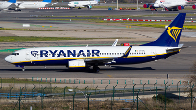 A picture of EIDYL - Boeing 7378AS - Ryanair - © Alejandro Gutierrez Martin