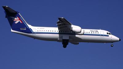 G-UKAG - British Aerospace BAe 146-300 - Air UK