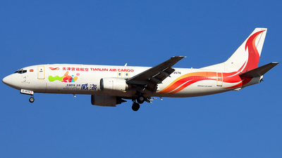 A picture of B2576 - Boeing 73744P(SF) - Tianjin Air Cargo - © YoungKyun Shin