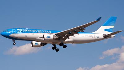 LV-FVH - Airbus A330-202 - Aerolíneas Argentinas
