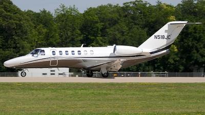 A picture of N518JC - Cessna 525B CitationJet CJ3+ - [525B0518] - © Eric Page Lu