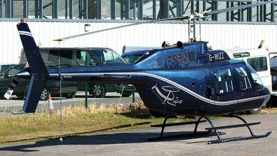 G-WIZZ - Agusta-Bell AB-206B JetRanger II - Private