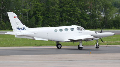 A picture of HBLZC - Cessna 340A - [1263] - © Guy Langlois