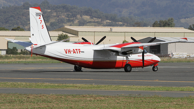 VH-ATF - Rockwell 690A Turbo Commander - Private