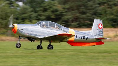 D-EPCI - Pilatus P-3-05 - Private
