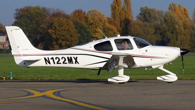 A picture of N122MX - Cirrus SR20 - [2347] - © BaszB