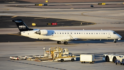 A picture of N241LR - Mitsubishi CRJ900ER - Mesa Airlines - © A Owen