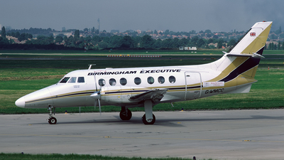 G-WMCC - British Aerospace Jetstream 31 - Birmingham Executive Airways