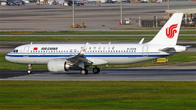 B-322W - Airbus A320-251N - Air China