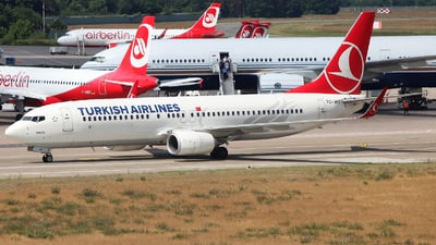 TC-JHT - Boeing 737-8F2 - Turkish Airlines