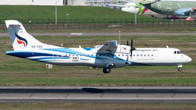 F-WWEF - ATR 72-212A(600) - Bangkok Airways