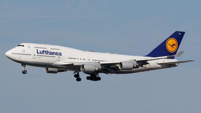 D-ABTK - Boeing 747-430 - Lufthansa