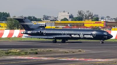 XC-NPF - Boeing 727-264(Adv) - Mexico - Police