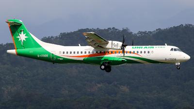 B-17008 - ATR 72-212A(600) - Uni Air