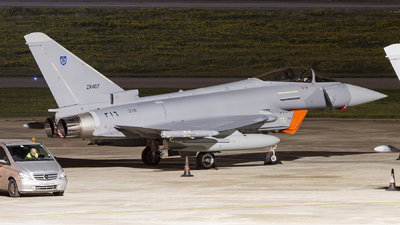 ZR407 - Eurofighter Typhoon EF2000 - Oman - Royal Air Force