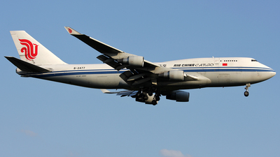 B-2477 - Boeing 747-433(SF) - Air China Cargo