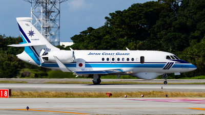 JA572A - Dassault Falcon 2000MSA - Japan - Coast Guard
