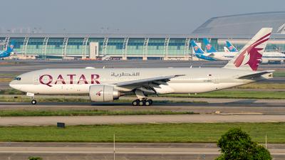 A picture of A7BBA - Boeing 7772DZ(LR) - Qatar Airways - © Ame_Jayzz