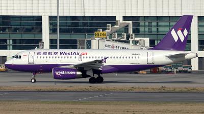 B-6413 - Airbus A319-133 - West Air