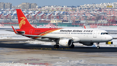 B-8220 - Airbus A320-214 - Shenzhen Airlines