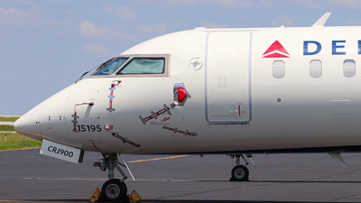 A picture of N195PQ - Mitsubishi CRJ900LR - Delta Air Lines - © Kass Betas