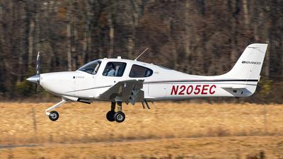 N205EC - Cirrus SR20 - Private