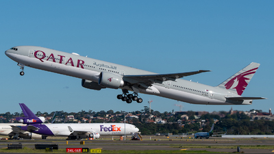 A7-BES - Boeing 777-3DZER - Qatar Airways