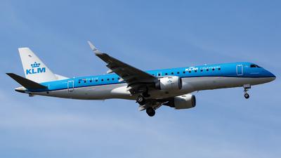 PH-EZE - Embraer 190-100STD - KLM Cityhopper