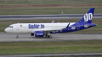 F-WWIK - Airbus A320-251N - Go Air