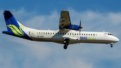 A picture of 9MMWD - ATR 72500 - MASwings - © Christopher Lo