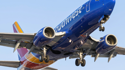A picture of N7720F - Boeing 7377BD - Southwest Airlines - © Kamryn
