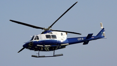 CP-2 - Bell 412SP - Cyprus - Police