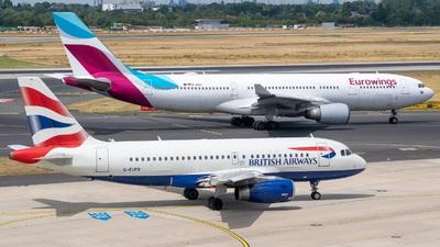 G-EUPB - Airbus A319-131 - British Airways