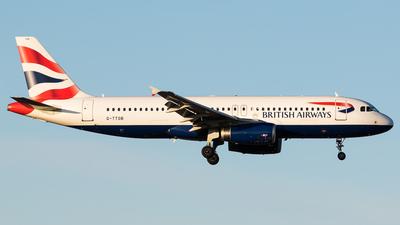 G-TTOB - Airbus A320-232 - British Airways