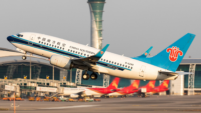 A picture of B5290 - Boeing 73771B - China Southern Airlines - © Jack  Li