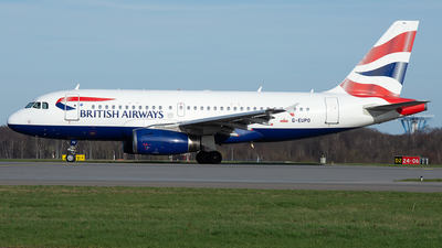 A picture of GEUPO - Airbus A319131 - British Airways - © PAUL LINK