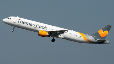 G-TCDY - Airbus A321-211 - Thomas Cook Airlines