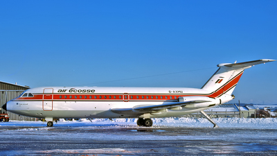 G-AXMU - British Aircraft Corporation BAC 1-11 Series 432FD - Air Écosse