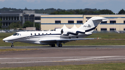 A picture of P4AND - Cessna 750 Citation X - [7500075] - © n94504