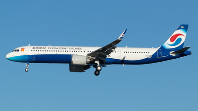 D-AVYM - Airbus A321-253NX - Chongqing Airlines