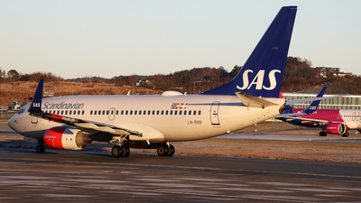 LN-RRB - Boeing 737-783 - Scandinavian Airlines (SAS)