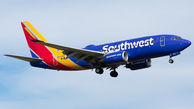 A picture of N570WN - Boeing 7377CT - Southwest Airlines - © Wes B