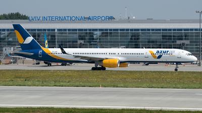 A picture of URAZP - Boeing 7573E7 - Azur Air Ukraine - © Yura Tanchyn